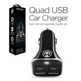 HyperGear High-Power Quad USB 6.8A Car Charger_