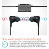 Naztech X1 actieve omgevingsgeluid onderdrukkende oortelefoon_