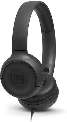 JBL headphone T500 zwart on ear