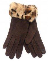 Handschoenen voor Dames bruin