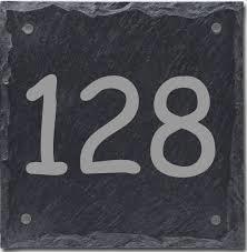 Leisteen naambord 15 x15
