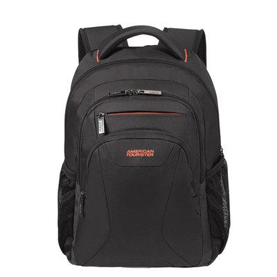 American tourist at work laptop backpack 13'3-14'1 black/orange