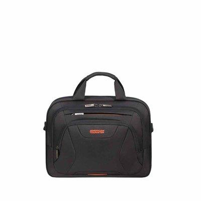 American tourist at work laptop bag 13'3-14'1 black/orange