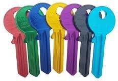 Gekleurde sleutels