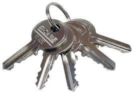 Huisdeur sleutel