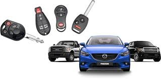 Auto sleutel met afstandsbediening
