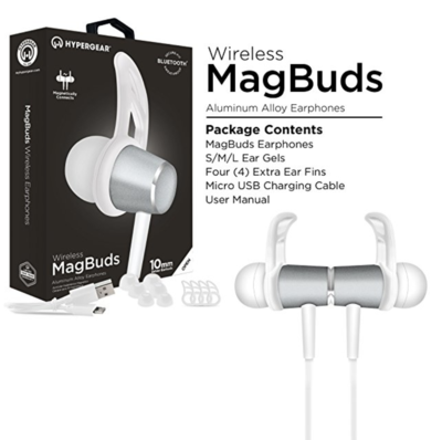 HyperGear Magbuds Bluetooth Earphones