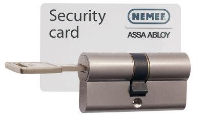 Nemef KB certificaat sleutel -cilinder