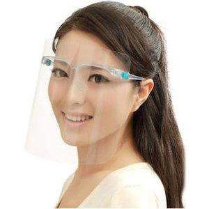 Corona spatmasker bril